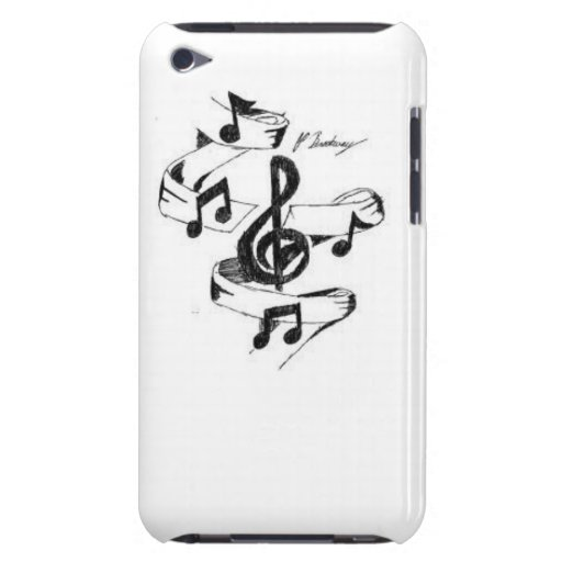Música tirada capa iPod Case-Mate