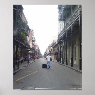 Músico da rua posteres