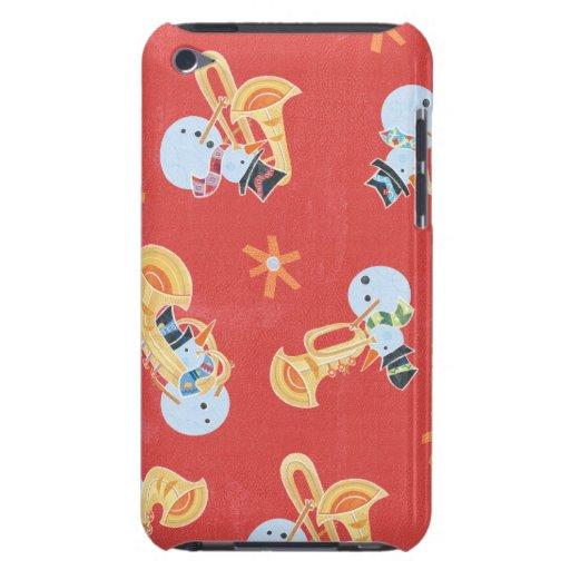 Músicos do boneco de neve que fazem a música do capas iPod touch Case-Mate