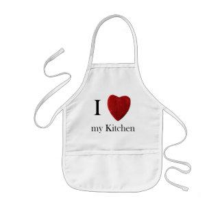 My meninos avental de cozinha j love kitchen
