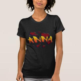 My nome is Anna Camisetas