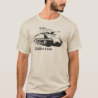 My other car is a Sherman Tank T-shirt