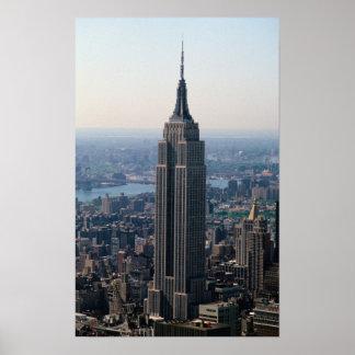 N.A., EUA, New York, Nova Iorque. O império Poster