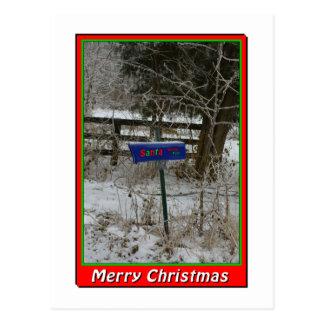 NA136.Merry Christmas.5x7. Cartão Postal
