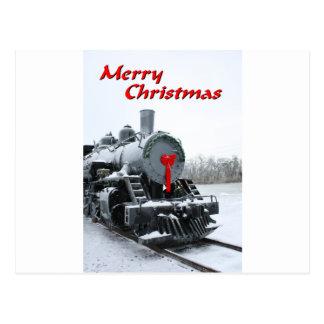 NA137.Merry Christmas.5x7. Cartão Postal