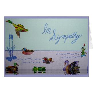 Na colagem da simpatia cartão comemorativo