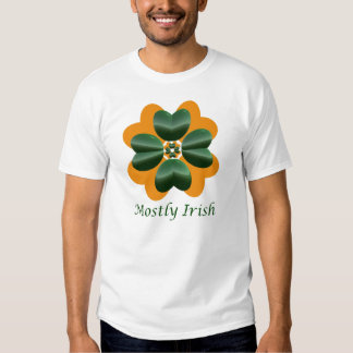 Na maior parte irlandês t-shirts