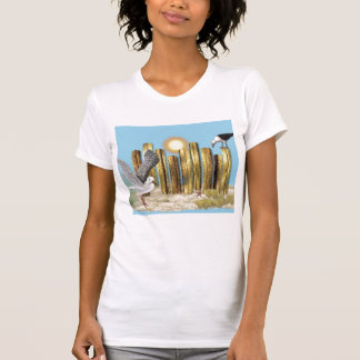 Na praia t-shirt