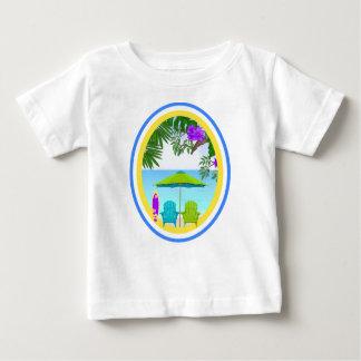Na praia t-shirts