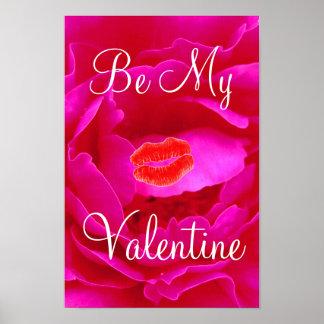 Namorados do rosa do rosa mim poster