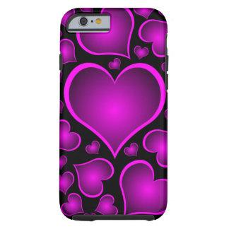 namorados dos corações capa tough para iPhone 6