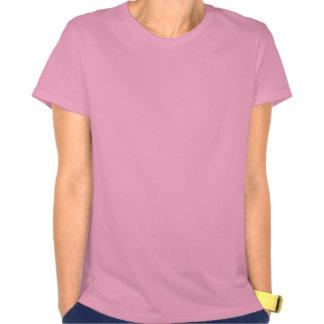 Namorados - silhueta do Pug T-shirts