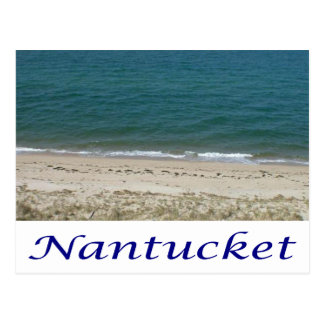 Nantucket, cartão de Massachusetts Cape Cod