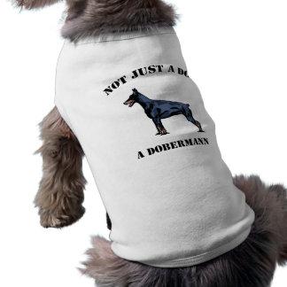 Não apenas um cão camisa sem mangas para cachorro
