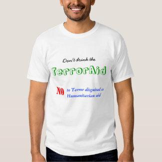 Não beba o TerrorAid Tshirt
