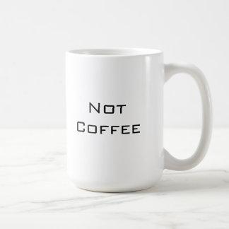 Não café caneca