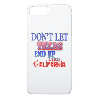 Não deixe Texas terminar acima o gosto… Caixa do Capa iPhone 7 Plus