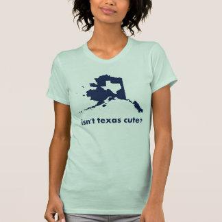 Não é bonito de Texas comparado a Alaska T-shirt