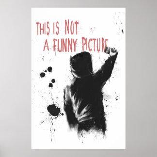 Nao engraçado poster