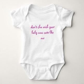 não faz o desejo que do cha seu bebê era bonito camiseta