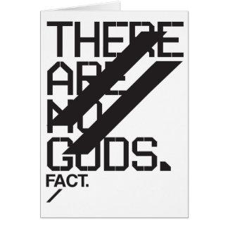 Não há nenhum cartão industrial dos deuses