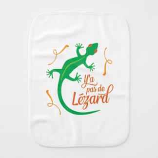 Não há nenhum lagarto - provérbio francês paninho para bebês