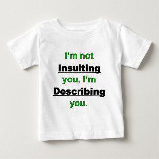 Não insultando o t-shirt