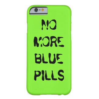 Não mais comprimido azul capa barely there para iPhone 6