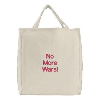 Não mais guerras! bolsa para compra
