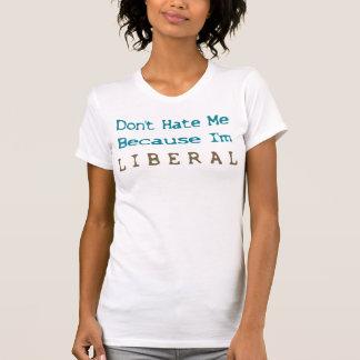 Não me deie porque eu sou liberal (2) tshirt