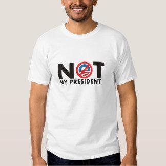 NÃO meu presidente T-shirt