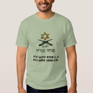 Não parafuse com um judeu! t-shirts