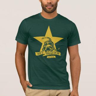 Não pise a camiseta #1 - a bandeira de Gadsden não