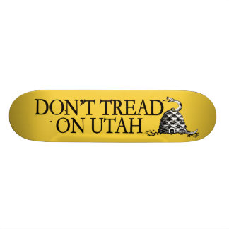 Não pise em Utá! Esta colmeia morde! Skates