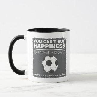 Não pode comprar o futebol da felicidade caneca