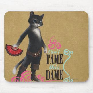Não pode domesticar esta dama (a cor) mousepads