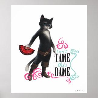 Não pode domesticar esta dama (a cor) poster