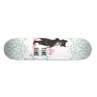 Não pode domesticar esta dama (a cor) skate boards