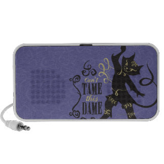 Não pode domesticar esta dama caixinha de som para iPod