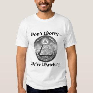 Não preocupe o Todo-Ver-Olho T-shirts