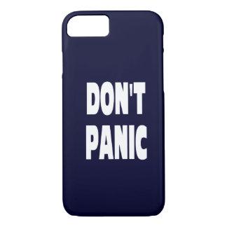 Não se apavora o caso azul escuro do iPhone 7 Capa iPhone 7