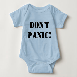 Não se apavora Onsie Camisetas