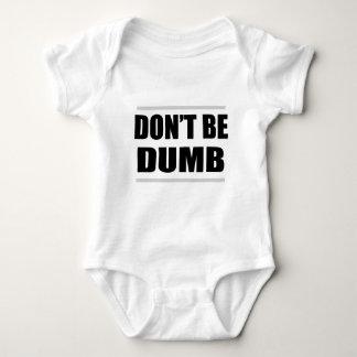 não seja provérbio simples engraçado mudo tshirt