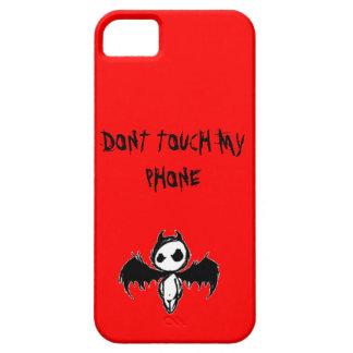 Não toque em minha CAIXA do telefone (IPHONE5S/5S) Capa Para iPhone 5