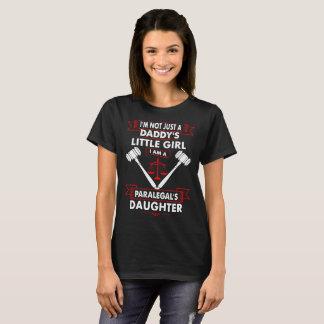 Não Tshirt da filha do Paralegal da menina de