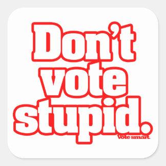 Não vote as etiquetas (LY) estúpidas