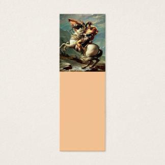Napoleon que cruza os cumes cartão de visitas mini