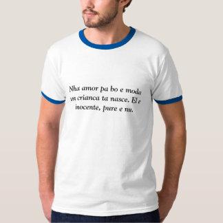 Nasce do crianca Ta do moda do pa BO e do amor de T-shirts