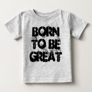Nascer a ser grande Tshirt da ciência das crianças