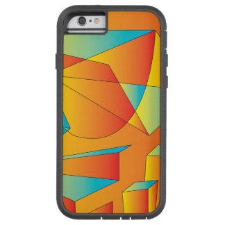 Nascer do sol da dança do disco capa tough xtreme para iPhone 6